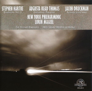 Jacob Druckman Nicolas Roussakis Animus II Night Speech Harpsichord Sonata