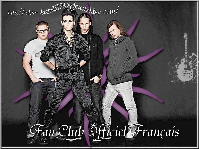 Blog de tokio-hotel2 : Tokio Hotel // • Le Fan Club Officiel Fran�ais de Tokio Hotel •, Annonce : Le blog est le Fan Club Officiel Fran�ais