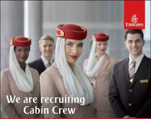 We are recruiting Cabin Crew