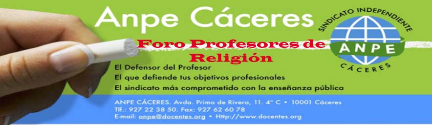 Profesores/as Religión