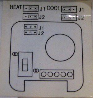 Schema branchement thermostat th 555 - Thermostat brico depot ...