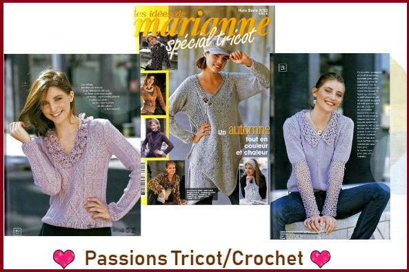 Passions tricot et crochet