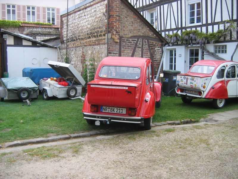 Rencontre nationale des 2cv clubs de france 13 mai