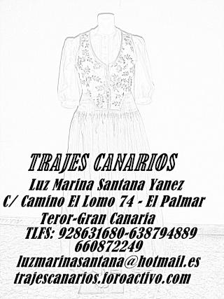 TRAJES TIPICOS CANARIOS