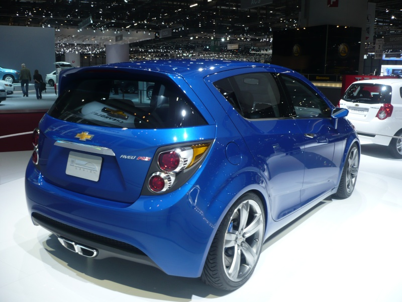 2010 Chevrolet Aveo RS Concept photo - 2