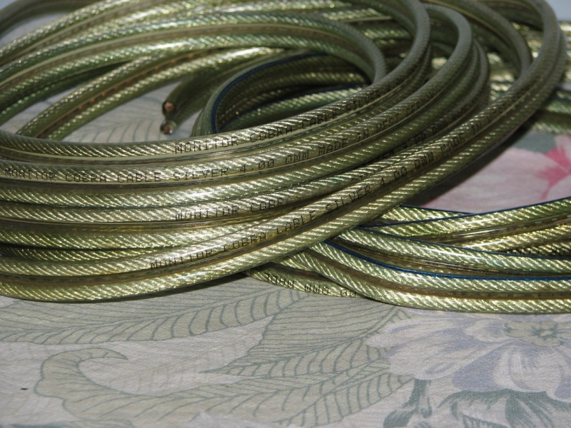 Monitor Cobra Silver 4qmm Speaker Cables Used Sold