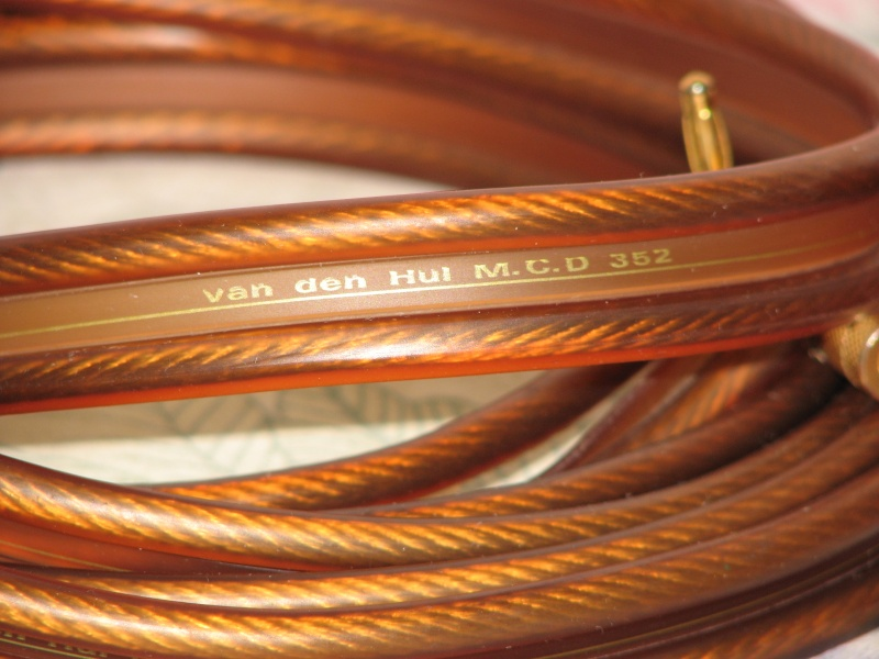 Van Den Hul Mcd 352 Speaker Cables Used Sold