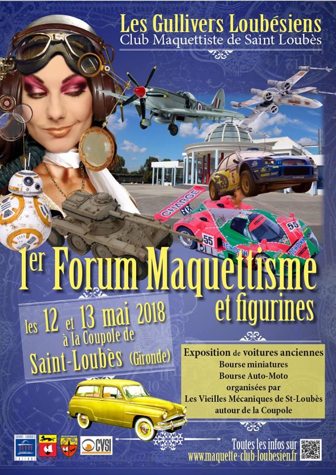 EXPO de St Loubès en Gironde les 12 et 13 mai 2018