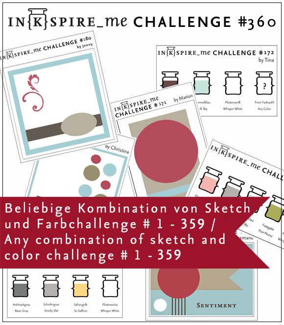 IN{K}SPIRE_me Birthday Challenge #360 mit Verlosung