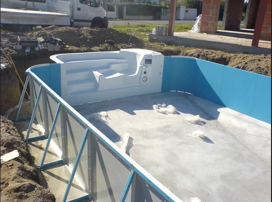 Piscine tendance piscine ou wat - Montage d une piscine waterair ...