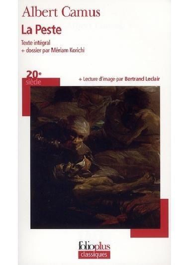 La peste d'Albert Camus dans Roman classique l_011110
