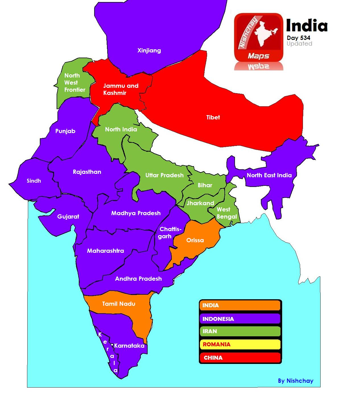 Latest India Map.Space To Think Newspaper Of Nishchay Tm Page 1 Of 2