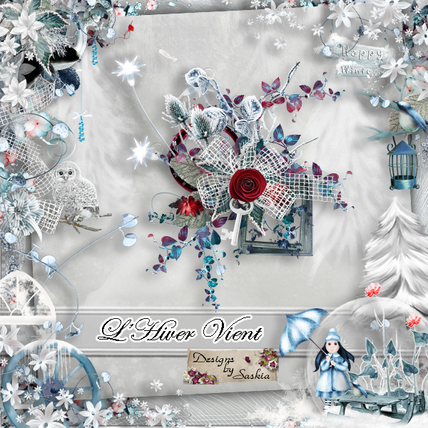 L hiver vient de Saskia Designs pv111