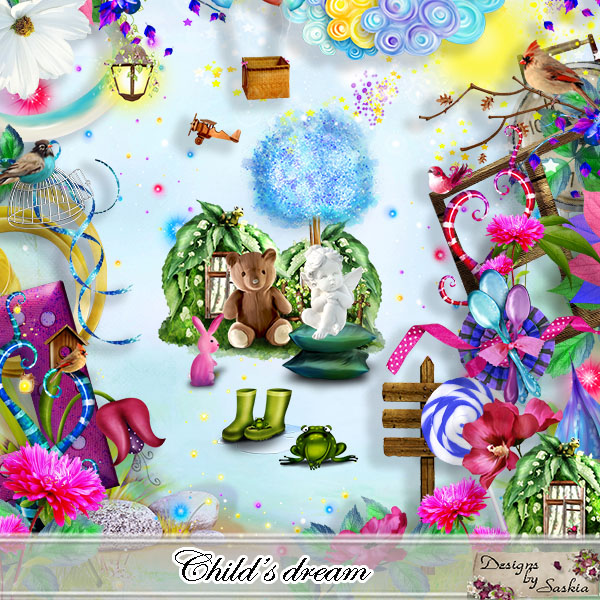Child's Dream de Saskia Designs dans Decembre saskia13