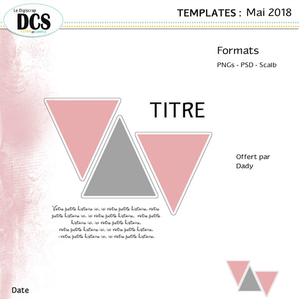 Templates de mai: Les triangles
