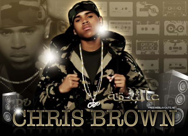 عاشقة chris brown