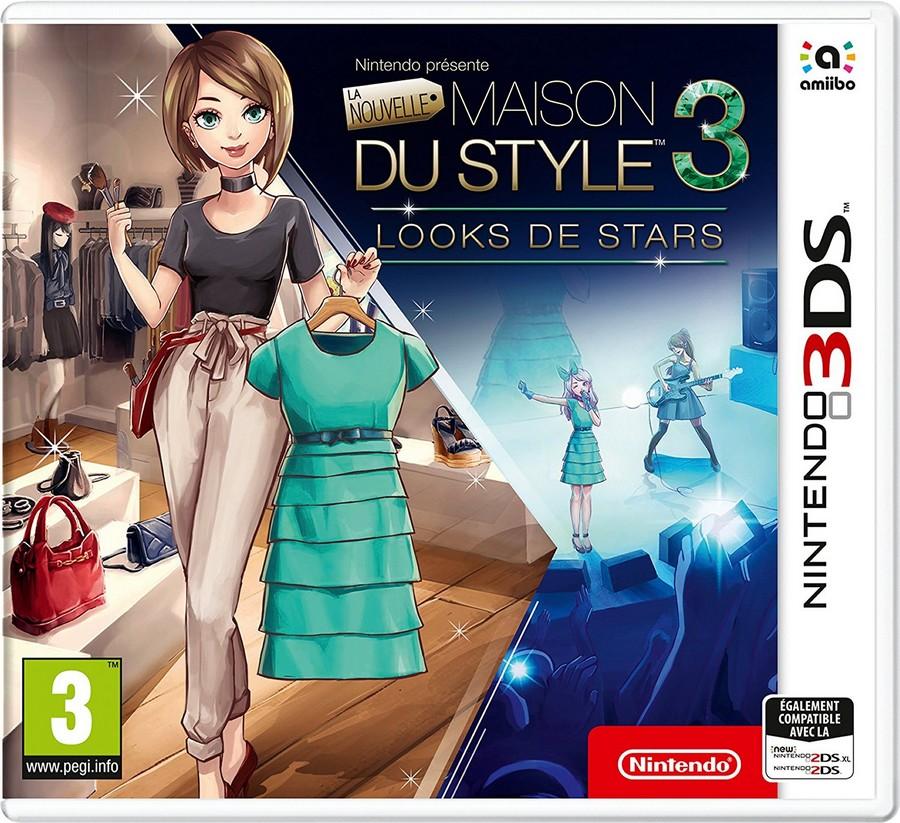 nouvelle maison du style 3 - jeu vidéo 3ds - okrynprod