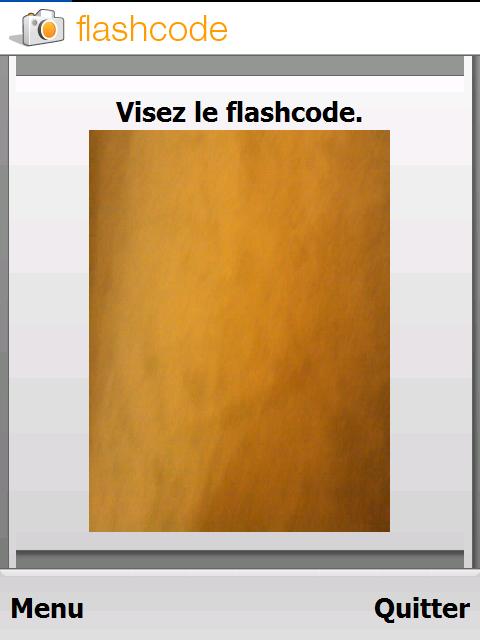 application flashcode lecteur code barre. Black Bedroom Furniture Sets. Home Design Ideas