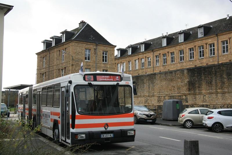 Le 701 à Charlevilles-Mézières, Décembre 2017