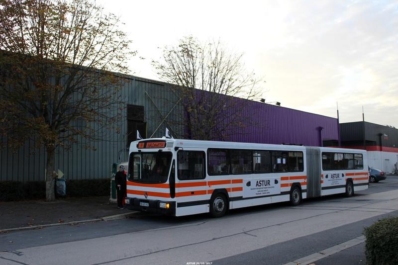 Le 701 dans le quartier Val de Murigny, Octobre 2017
