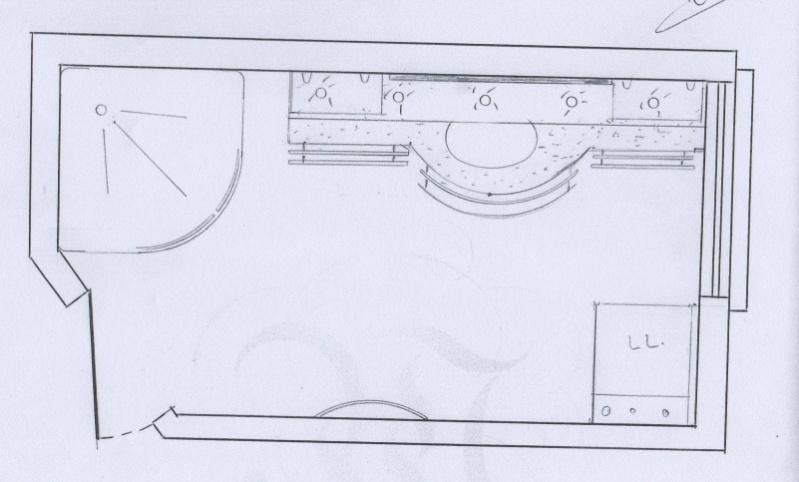 Salle de bain peinture p10 for Implantation de salle de bain