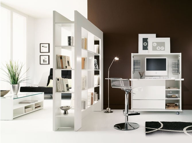 le salon des meubles pour tout ranger. Black Bedroom Furniture Sets. Home Design Ideas
