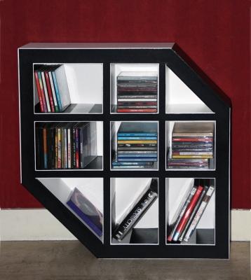 rangement cd salon