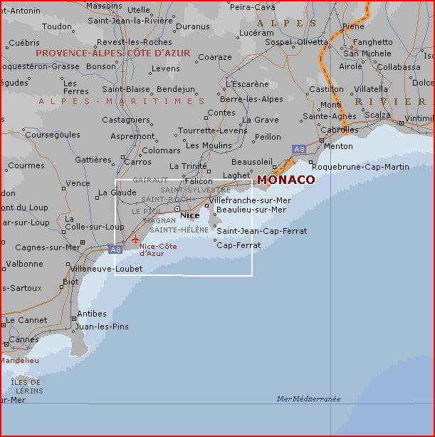 carte geographique