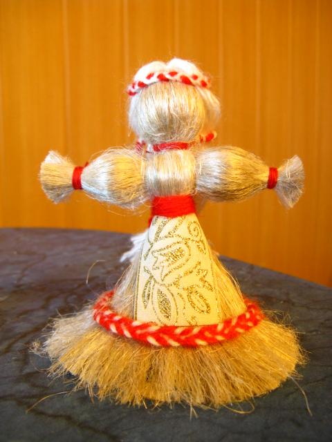 Мастер-класс по кукле из кудели льна.Делаем Берегиню - valirossi- я.ру