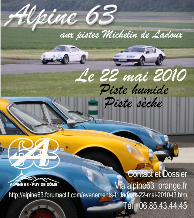 forum clio williams 16s afficher le sujet 22 mai 2010 pistes de ladoux michelin alpine. Black Bedroom Furniture Sets. Home Design Ideas