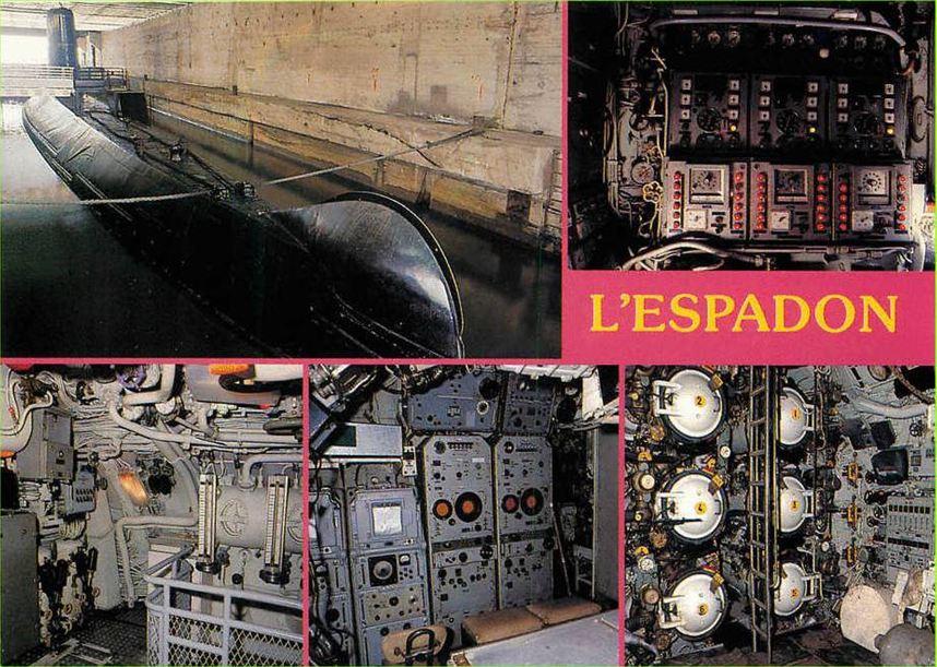 Espadon sm page 4 for Interieur sous marin