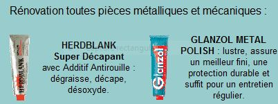 glanzol metal polish prix