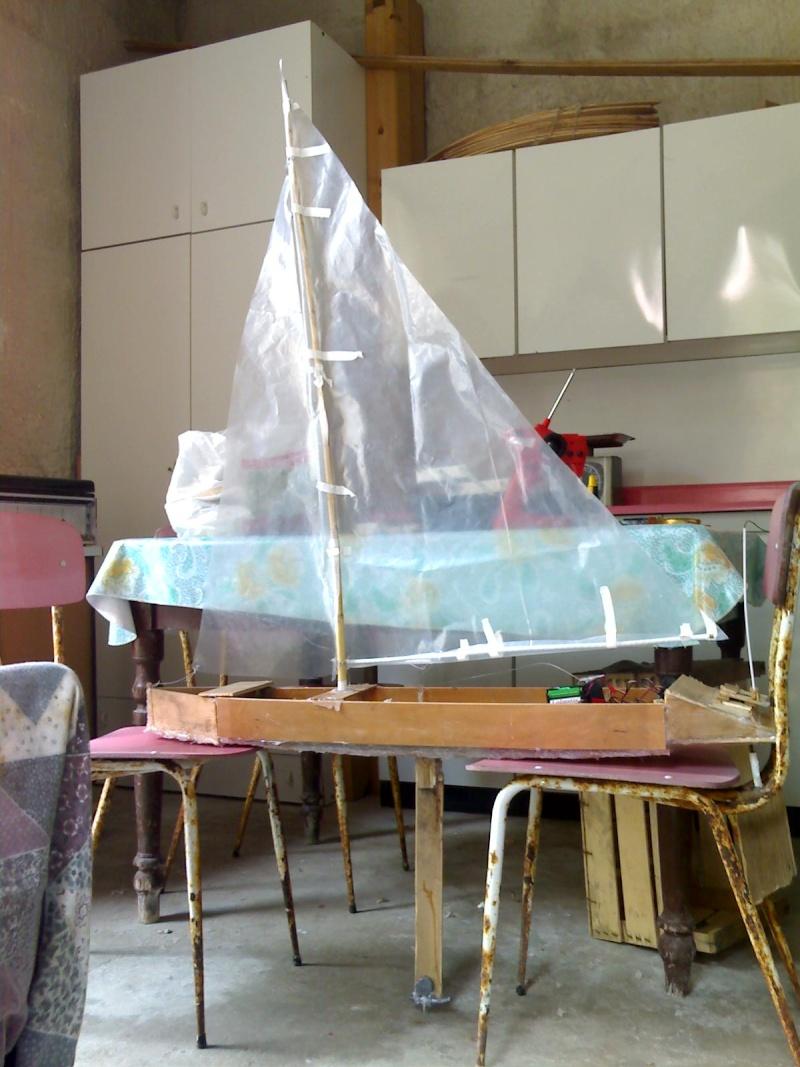 La mia barca a vela rc fatta in casa for Piani di casa in barca