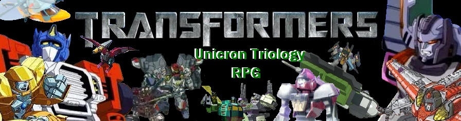 Transformers Unicron Triology RPG