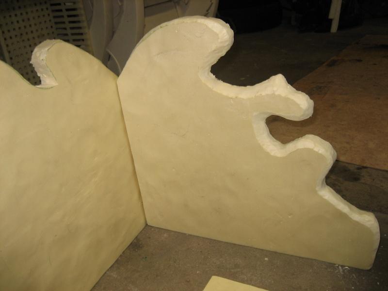 Construction d cor terrarium - Coller du polystyrene ...