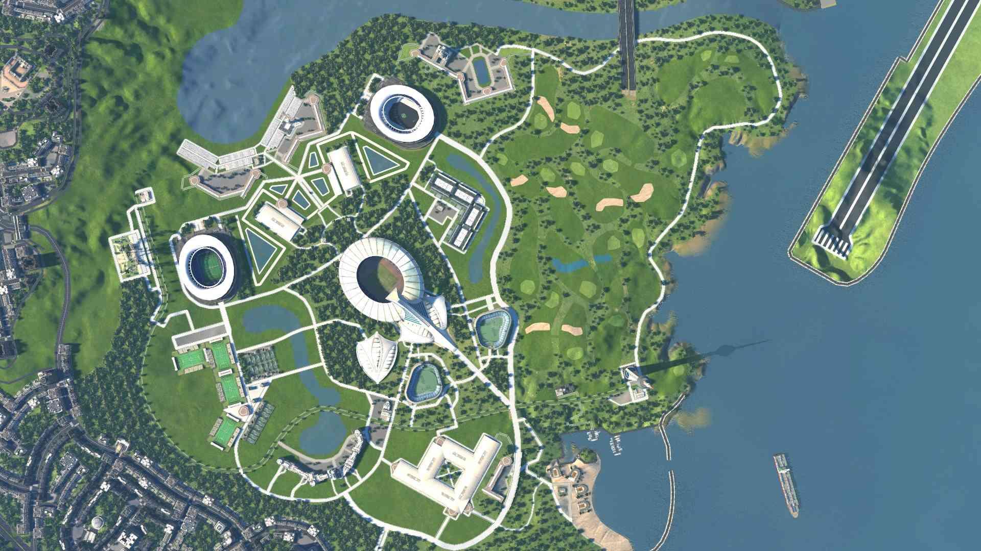image Parc olympique des iles cerberes de Sant Alistia