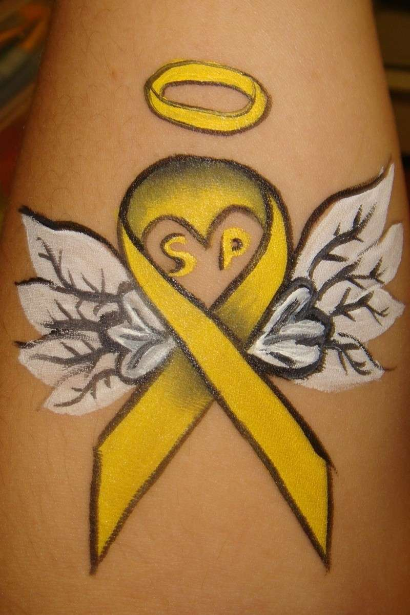 the gallery for suicide awareness tattoos on wrist