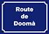 Route de Doomà