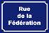 Rue de la Fédération