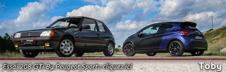 Essai 208 & 205 GTi