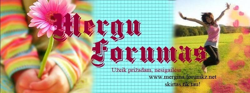 Merginų forumas