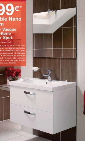 Relooking total sdb for Colonne salle de bain lapeyre