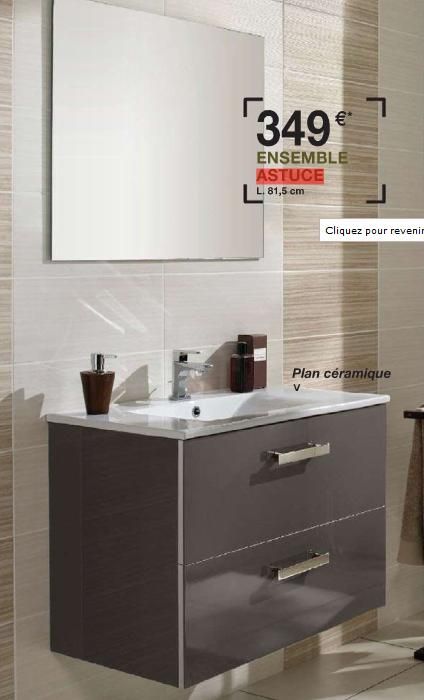 meuble salle de bain promo leroy merlin vega. Black Bedroom Furniture Sets. Home Design Ideas
