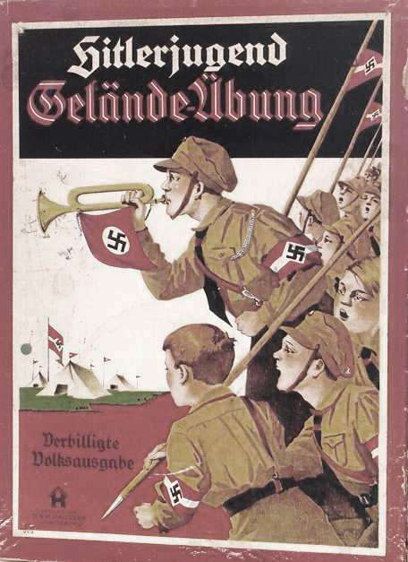 Carteles de propaganda de las Hitlerjugend