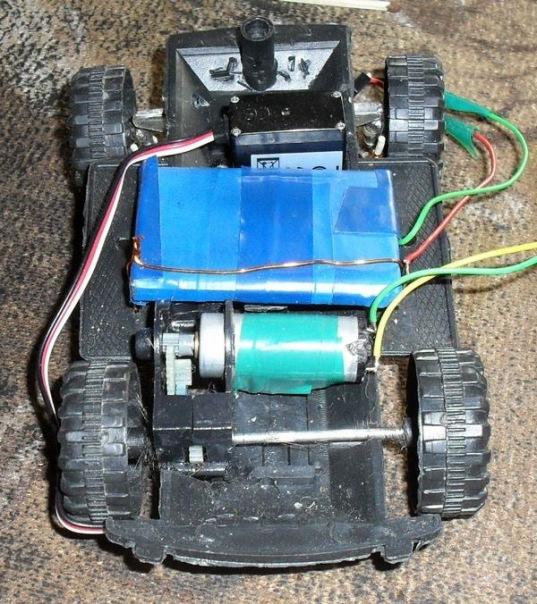 Как сделать мотор для машин 764