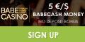 BabeCasino Mobile $/€5 no deposit bonus