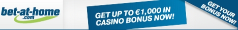 Bet-at-home Casino $/£/€1000 bonus