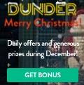 Dunder Casino $/€/£600 bonus + 200 Free Spins