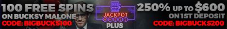 Jackpot Wheel Casino 100 Free Spins no deposit bonus
