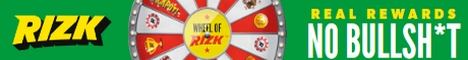 Rizk Casino 10 Free Spins up to $/€25 no deposit bonus
